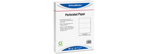 04122 - Perforated Deposit Slips Paper
